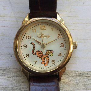 Disney SII Seiko Tigger Watch Brown Band MU0844